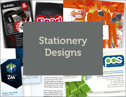 Stationery Designs [Business Cards]