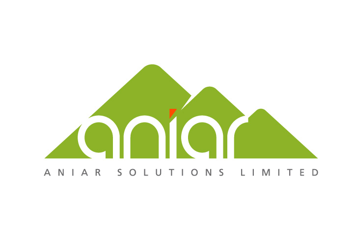 Aniar Solutions logo design refresh