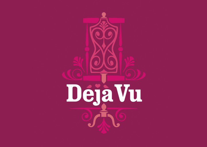 Deja Vu brand design full colour
