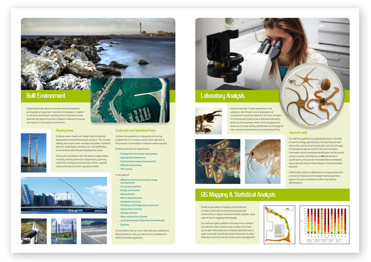 EcoServe brochure design layout 4