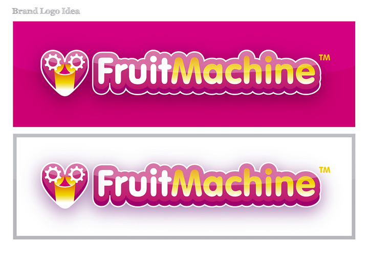 FruitMachine brand design