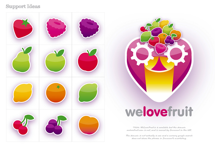 FruitMachine brand design campaign