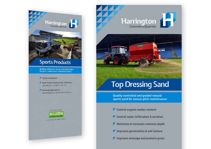 Harrington Concrete Pull Up Banner Stand Display Designs Kilkelly