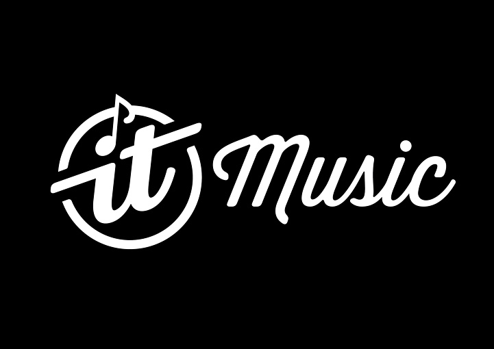 It Music main logo brand design