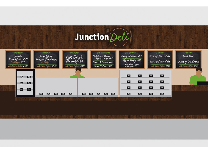 Junction Deli Point Of Sale Design Collooney
