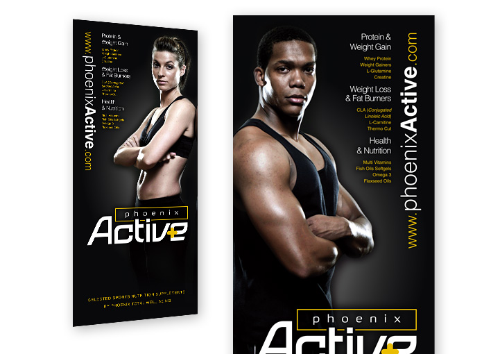 Phoenix Active pull up banner stand design