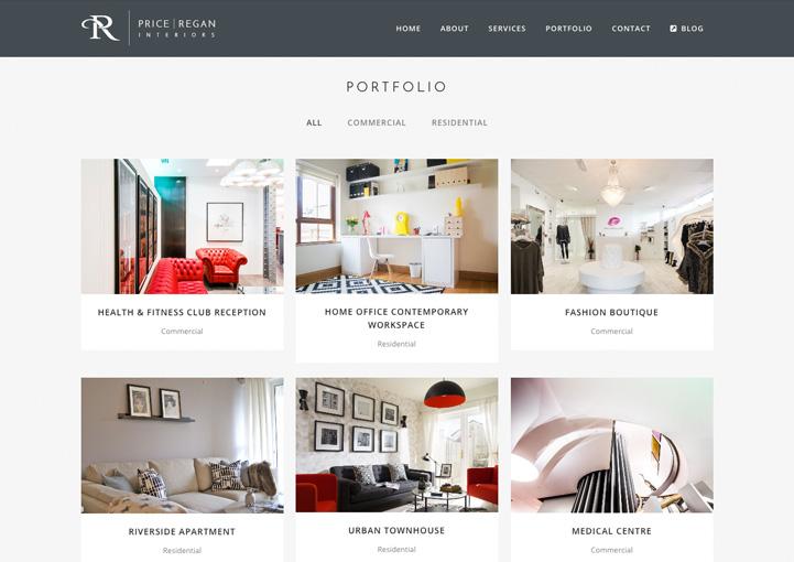 Charmant ... Price Regan Interiors Web Portfolio Design