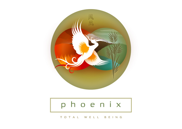 Phoenix Total Well-Being logo design