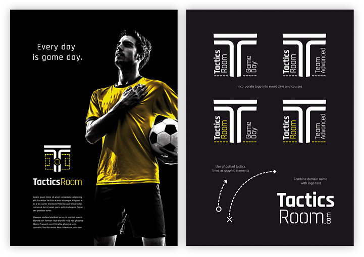 Tactics Room brand variations